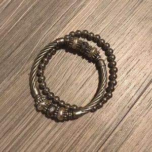 Matching bracelet set